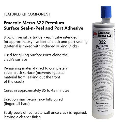 DIY Leaky Basement Wall Crack Repair Kit (10 Ft.) With