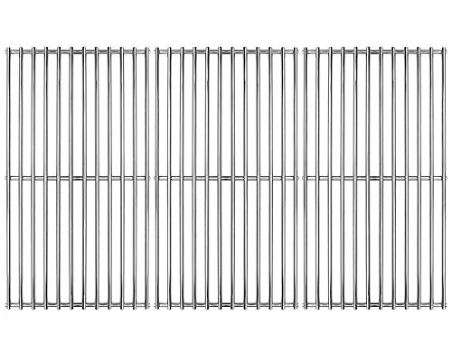 Hongso SCD453 BBQ Barbecue Replacement Stainless Steel Cooking Grill Grid Grate for Master Centro, Charbroil, Sam