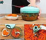 Manual Meat Grinder Food Chopper Mincer Mixer Blender Fruit...