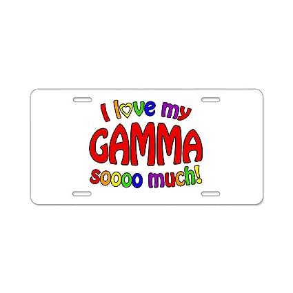 6e1d9e086022 Amazon.com: AhuiA-I Love My Gamma So Much Gifts Custom Personalized ...
