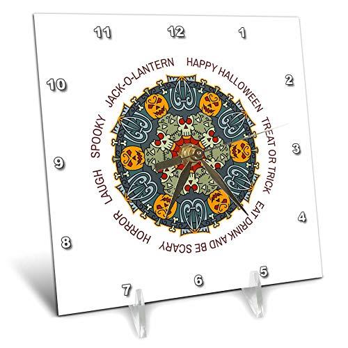 3dRose Alexis Design - Mandala Seasons Holidays Text