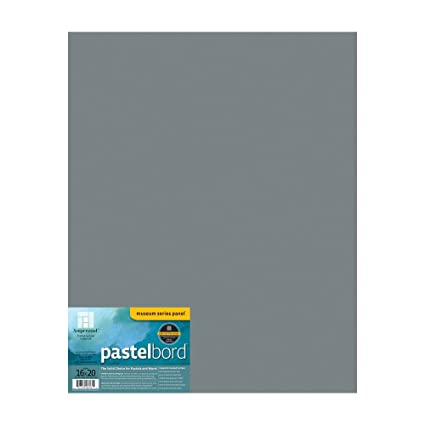 amazon com ampersand pastelbord 16 in x 20 in gray each