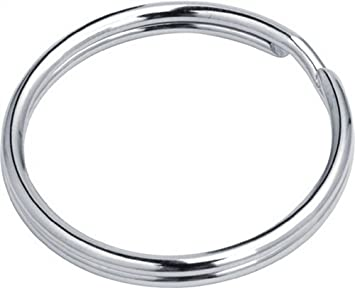 Stahl Schlüsselringe Key Ring in Herzform oder Sternform 10-1000 Stück