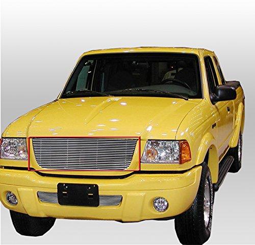 03 Ford Ranger Billet Grille - ZMAUTOPARTS Ford Ranger Xlt 4Wd/Edge Pickup Front Upper Billet Grille Grill Insert