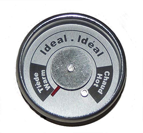 (Brinkmann Upright Smoker Temperature Gauge All-In-One Round W/ tabs 072-0006-0)