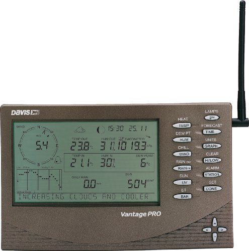 Davis Instruments 6152C Vantage PRO - 2 Wired Weather Station