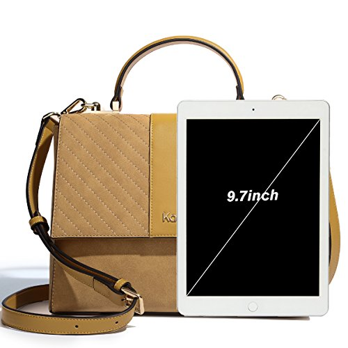 Vintage Designer Mother Messenger Friend Bag Kadell Women Bag Leather White Gift for Yellow Satchel Shoulder Off Faux Crossbody Purse IwWqg4