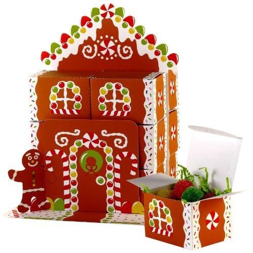 Creative Converting Gingerbread House Favor Box Centerpiece