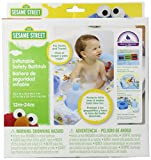 Bath Seats for Baby Sesame Street Inflatable Safety Bathtub, Blue