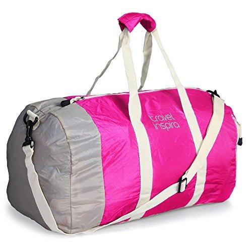 33eebd96ab6e Malirona Canvas Weekender Bag Travel Duffel Bag for Weekend ...