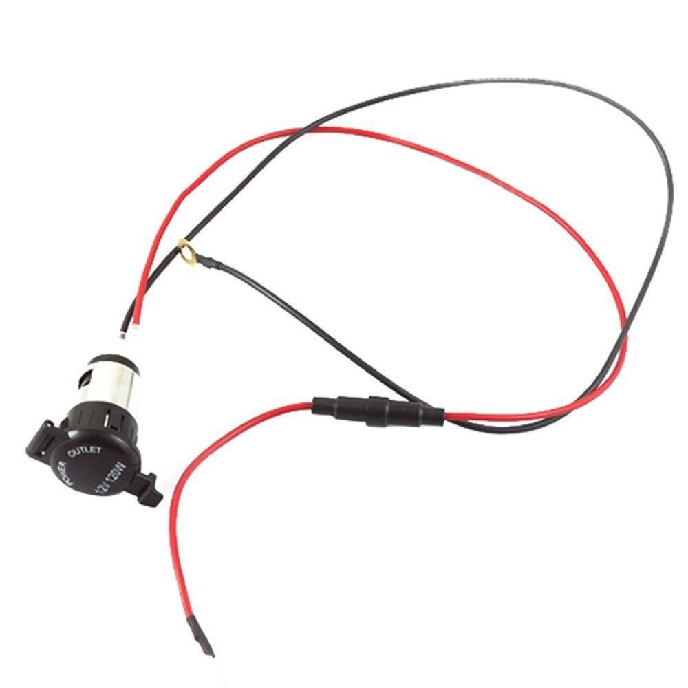 New Motorcycle Cigarette Lighter Power Outlet Plug Socket 12v 120w Wiring Automotive