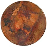 Round Copper Table Top Light Patina (30″) Review