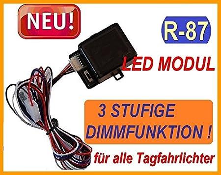 Bluetech Plus Steuermodul Gem R 87 FÜr Led Tagfahrlicht Mit ZÜndautomatik Und 3 Stufige Dimmfunktion Auto