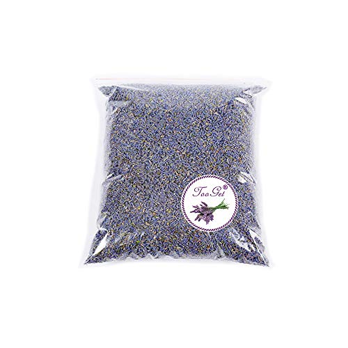TooGet Fragrant Lavender Buds Organic Dried Flowers Wholesale, Ultra Blue Grade - 1/2 Pound (Company Potpourri Wholesale)