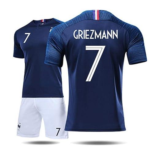 GXYGWJ Camiseta Masculina del Equipo de Francia 2018 Copa del ...