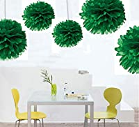 Zorpia® 12pcs Mixed 8inch 10inch 14inch Sizes New design DIY Tissue Paper Pom-poms Flower Ball Hanging decoration pom poms Flower Ball Wedding Party Outdoor Decoration / Tissue Paper Flower Ball Pom-poms For Birthday Party Baby Room Nursery Decoration - P