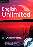 img - for English Unlimited Upper Intermediate A Combo with DVD-ROMs (2) book / textbook / text book