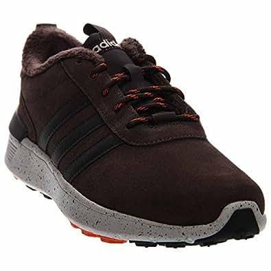 Amazon.com | Adidas Lite Racer Winter Shoes - Dark Brown