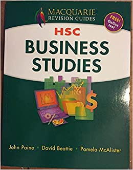 MACQUARIE REVISION GUIDES HSC BUSINESS STUDIES: David Beattie, Pmela