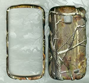 Samsung Camo Realtree Mossy Snap-on Cover Rubberized Skin Faceplates for Galaxy Proclaim Sch-s720c