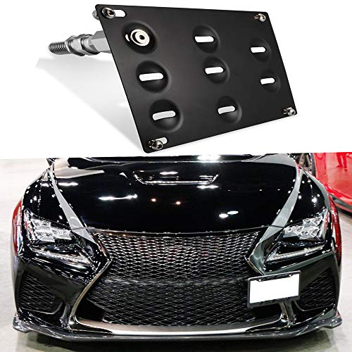 - GTP JDM Style Front Bumper Tow Hook License Plate Mounting Bracket for Lexus IS250 IS350 is-F RC200t RC250 RC300 RC350 RC-F GS350 GS460, CT200h, NX RX LS