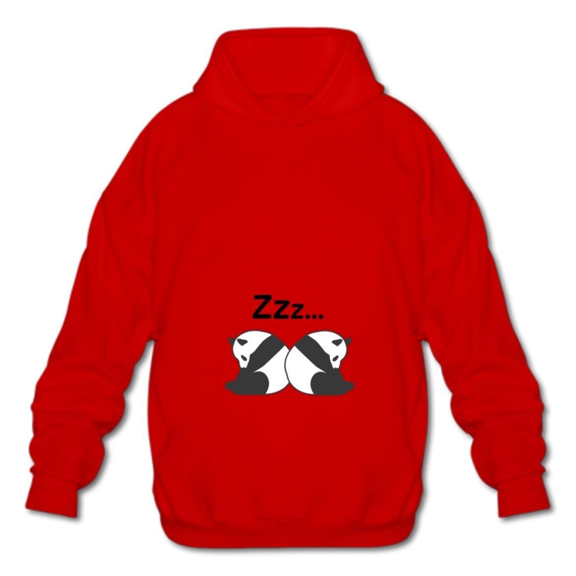 Gizhongqu Sweatshirt Hooded Fashion Hoodies-03 Cartoon Panda Kusa Cotton Pullover Fashion Mens