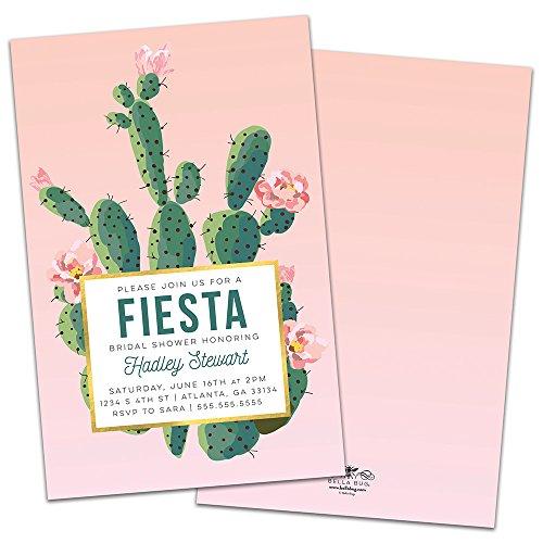 Fiesta Personalized Bridal Shower - Invitations Fiesta Shower