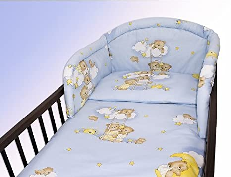 Covers Ladders Pink 4 Piece Bedding Set 135x100 Baby Cot Bed Duvet//Pillow