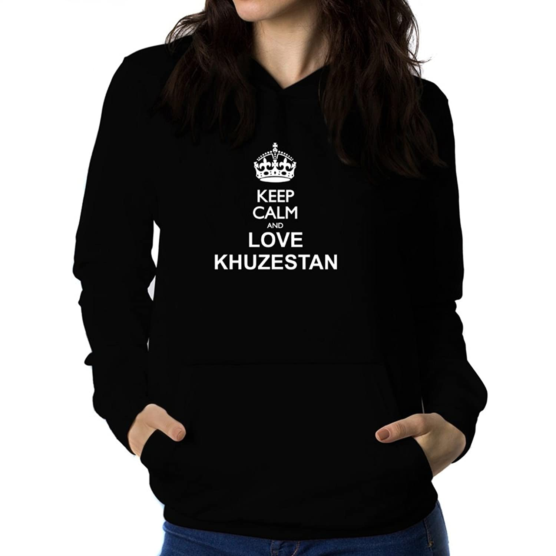 Keep calm and love Khuzestan Women Hoodie