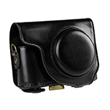 """ForYourSmile """"Ever Ready"""" Protective PU Leather Camera Case, Bag for Casio ZR2000 ZR3500"""