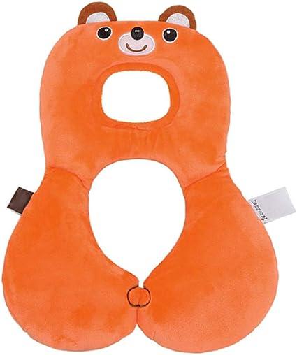 prodotti per bambini Neonato Cuscino di sostegno bambino Protezione del capo cuscino del fumetto di disegno dellorso del cuscino a forma di U bambino Cuscino per Seggiolino Auto Passeggino
