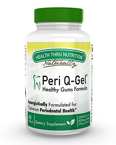 Peri Q Gel Healthy month supply softgels product image