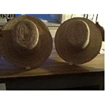 Authentic Amish Straw Hat for Adults
