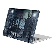 "KoolMac [ Full Body Hard Case ] [ Apple Old Macbook Pro 13"" with Retina Display / NO CD-ROM (Model: A1502 / A1425) ] - Artistic Winter Fantasy Moon Lantern Snow Tree Gate"