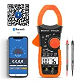 Digital Clamp Meter HP-570C-APP APP Supported,Volt Amp Ohm Tester,4000 Count Multimeter with Auto