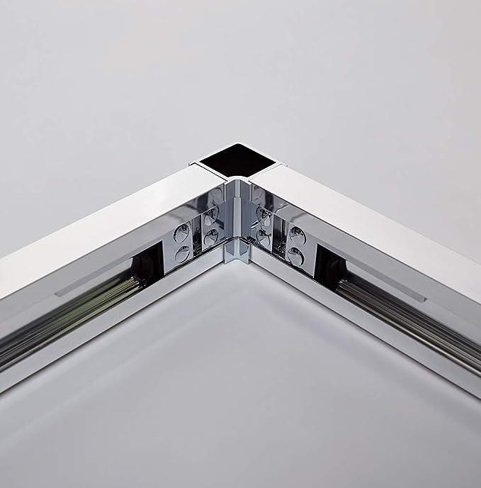Mampara de Ducha - GME - Basic Frost Plus angular al vértice 2 ...