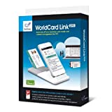 Penpower WorldCard Link Pro Business Instant iPhone 5 Business Card Scanner. Synch with PC, Outlook and Cloud Management. Model WCardLinkPro-iP5
