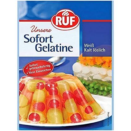 Ruf Sofort Gelatine 30 g: Amazon.com: Grocery & Gourmet Food
