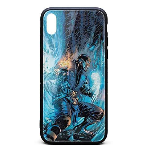 Mortal-Kombat-Lin-Kuei- Phone Case for iPhone Xs MAX Custom Skid-Proof Case ()