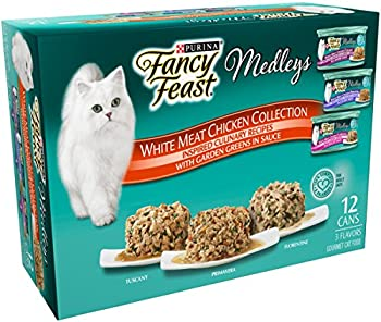 3-Pk. Purina Fancy Feast Chicken Variety 12 cnt + $10 GC