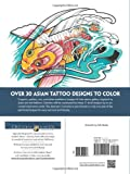 Creative Haven Asian Tattoo Designs Coloring Book (Adult Coloring)