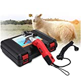 DRILLYR Sheep Shears Clippers, 500W Electric Sheep Shears Goat Clippers 13 Teeth Blade for Sheep Goat Llama Horse and Other Fur Livestock, 110V-240V