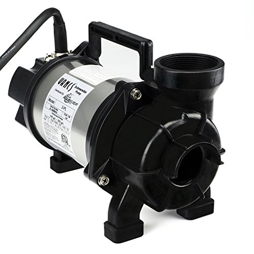 Aquascape Tsurumi 3PL Submersible Pump for Ponds, Skimmer Filters, and Pondless Waterfalls, 3,000 GPH | - Pump Pond 3