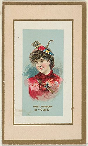Daisy Murdoch as Cupid from the Fancy Dress Ball Costumes series (N107) to promote Honest Long Cut Tobacco manufactured by W Duke Sons & Co Poster Print (18 x (Daisy Duke Fancy Dress)