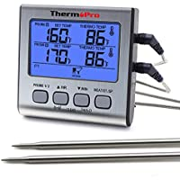 ThermoPro TP17 Dual Probe Digital Cooking Meat...