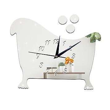 Joe & Eif Badezimmer Bad Spiegel Wand Uhr Mode DIY ...