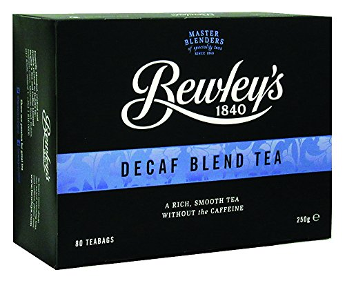 Decaffeinated Irish Tea - Bewley's Decaf Blend Tea Bags, 250 gram, 80 Tea Bags