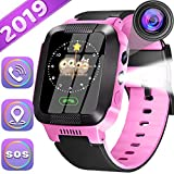 Kids Smartwatch Best GPS Tracker 3-12 Year Old Boys Girls Child Phone Watch with Digital Camera...