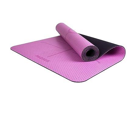 CRRQQ Colchonetas de Yoga, Caucho Natural for Principiantes ...