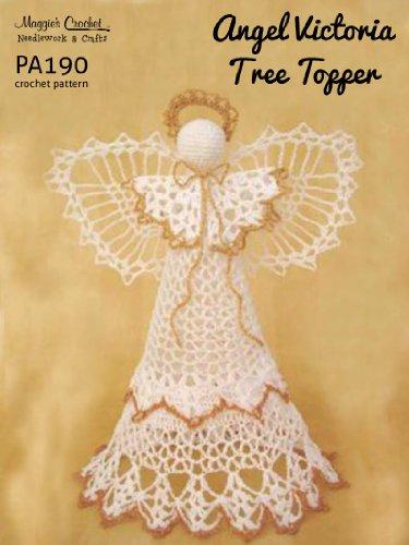 Angel Tree Topper Craft - Crochet Pattern Angel Victoria Tree Topper  PA190-R